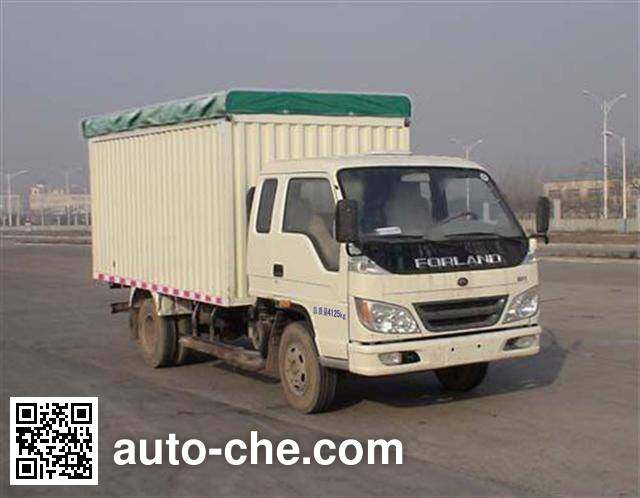 Foton BJ5046V9CDA-B soft top box van truck