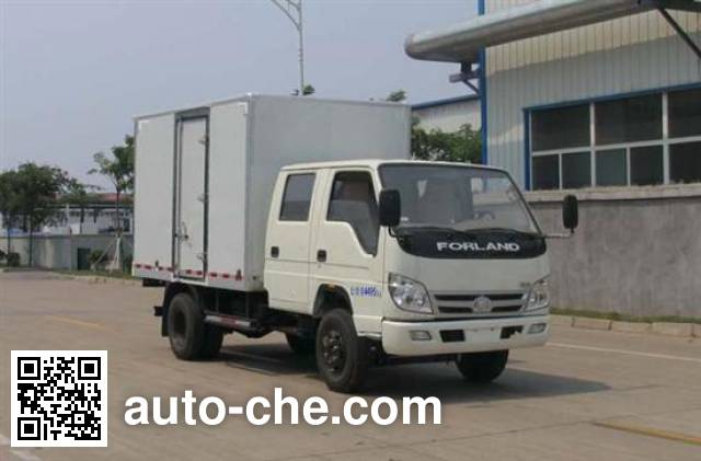 福田牌BJ5046XXY-F3厢式运输车