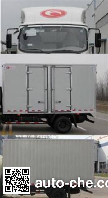Foton BJ5046XXY-BA box van truck