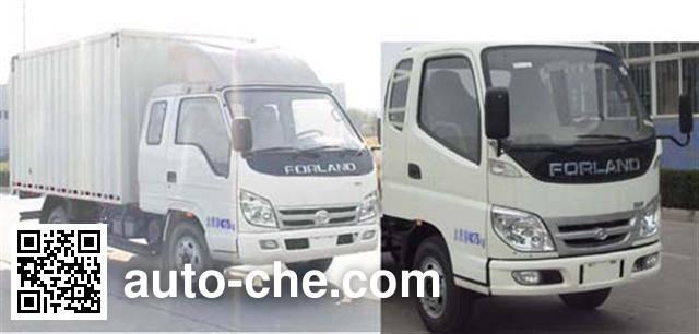 Foton BJ5046XXY-X7 box van truck