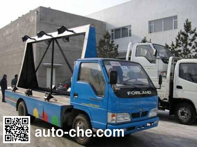 Foton Forland BJ5046Z7BE6 рекламный грузовик