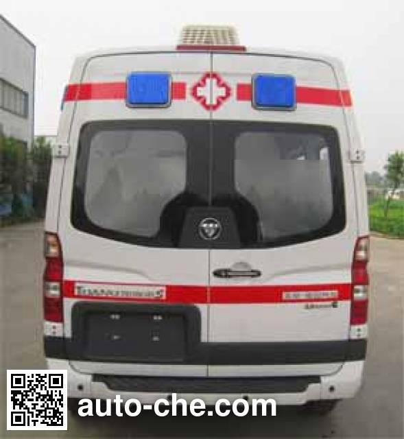 福田牌BJ5048XJH-V1救护车