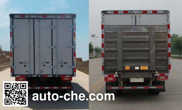 Foton BJ5049XXY-A9 box van truck