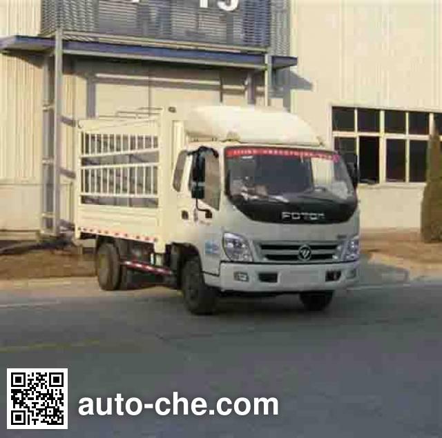 福田牌BJ5049CCY-CB仓栅式运输车