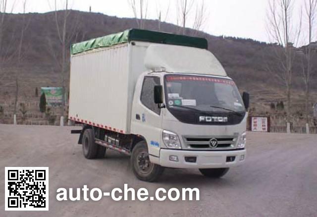 Foton BJ5049CPY-AA soft top box van truck