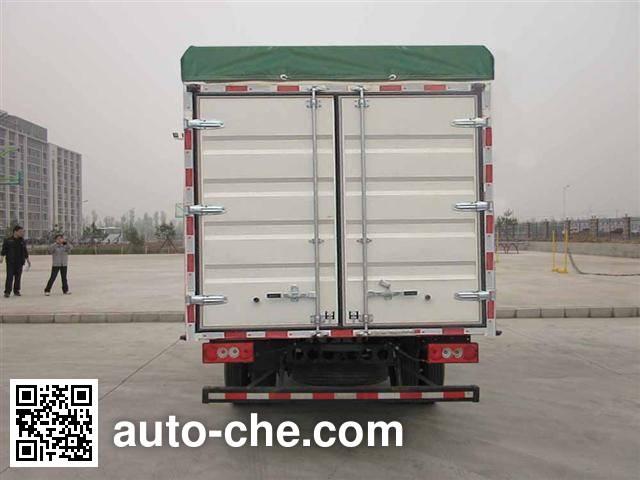 Foton BJ5049CPY-F6 soft top box van truck