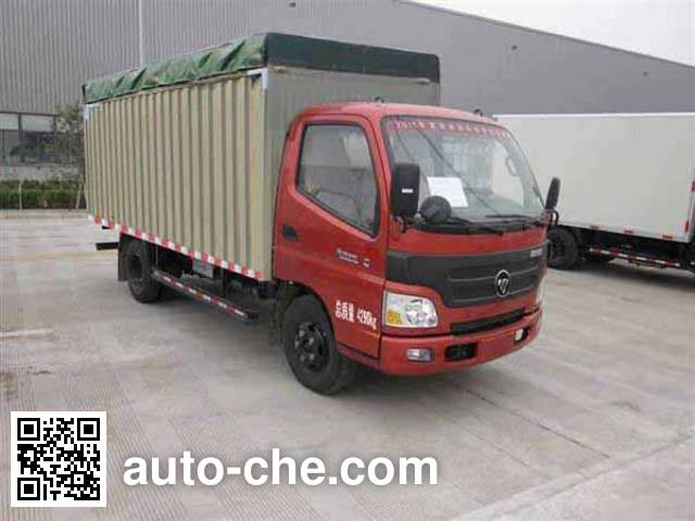 Foton BJ5049CPY-F7 soft top box van truck