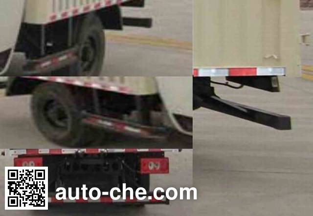 Foton BJ5049CPY-F8 soft top box van truck