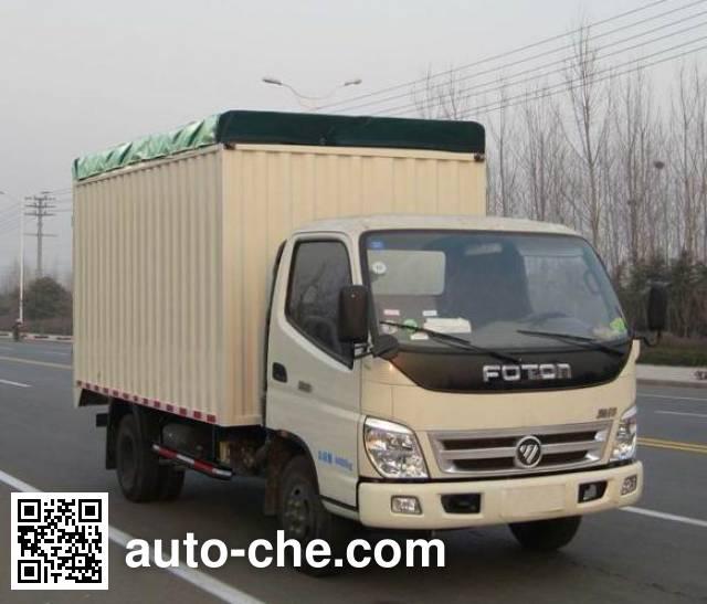 Foton BJ5049CPY-FA soft top box van truck