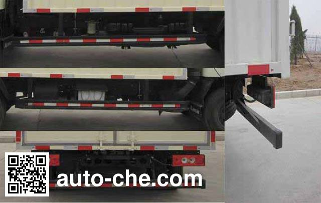 Foton BJ5049CPY-FD soft top box van truck