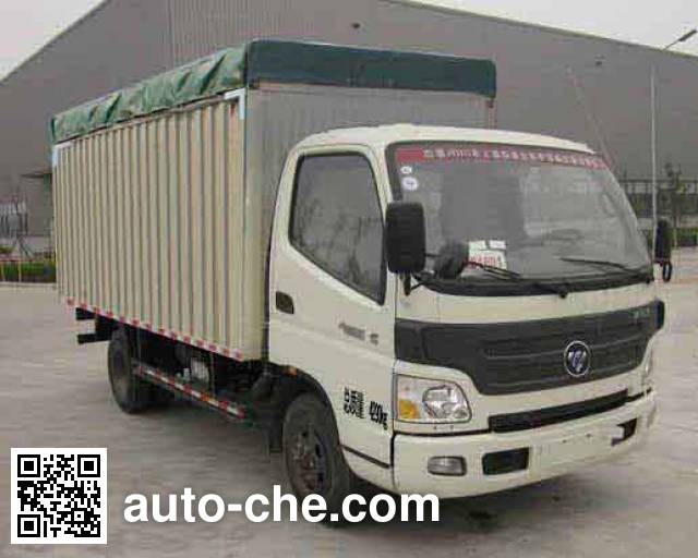 Foton BJ5049CPY-FD soft top box van truck