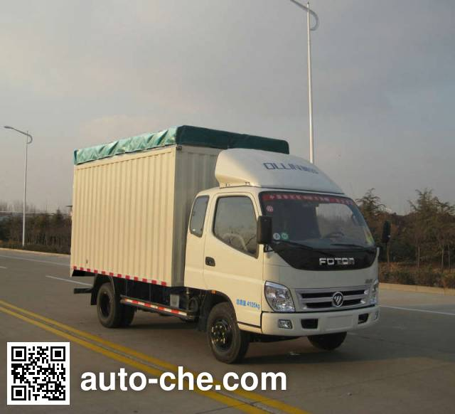 Foton BJ5049CPY-FF soft top box van truck