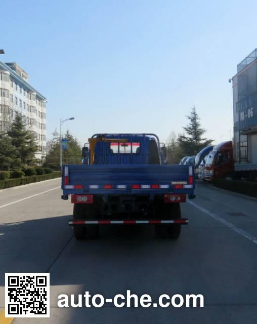 福田牌BJ5049JSQ-FA随车起重运输车