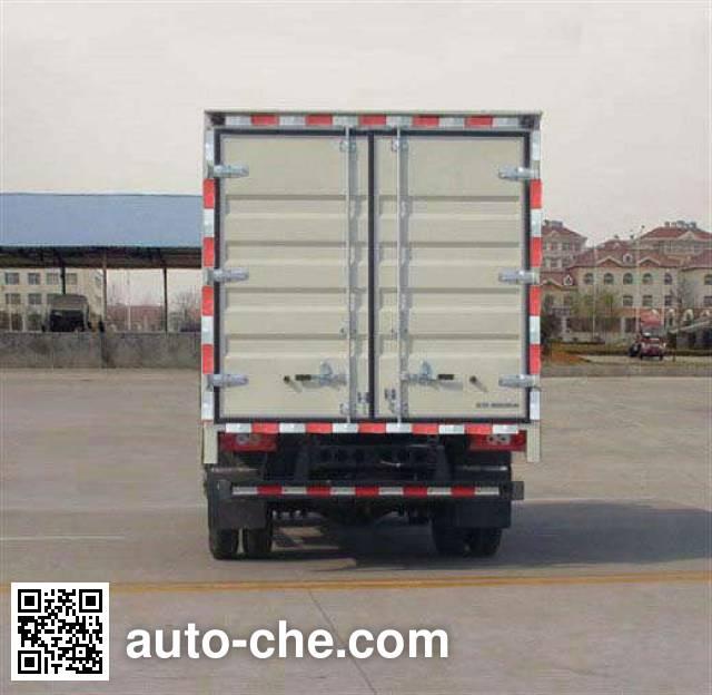 Foton BJ5049V8BEA-FD box van truck