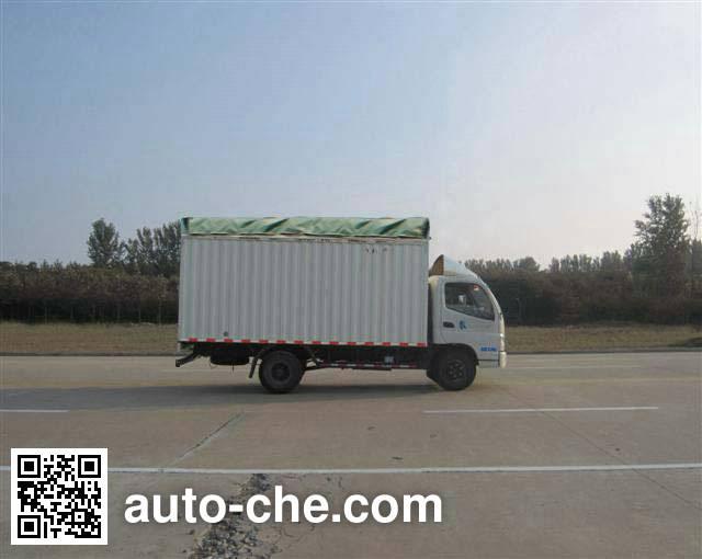 Foton BJ5049V9BEA-FB soft top box van truck