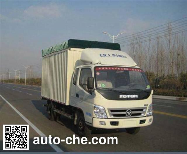 Foton BJ5049V9CEA-FB soft top box van truck