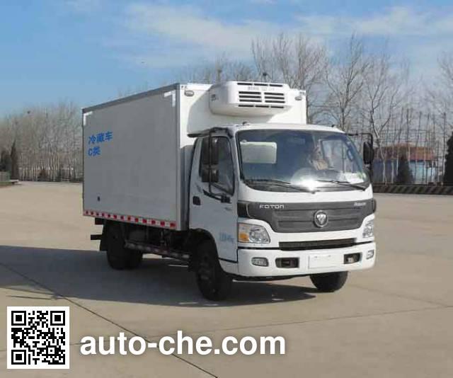 福田牌BJ5049XLC-F1冷藏车