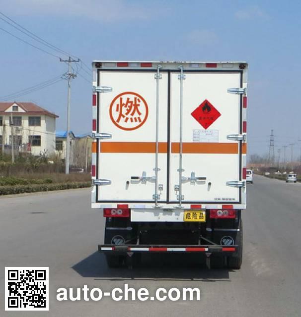 Foton BJ5049XRQ-FD flammable gas transport van truck