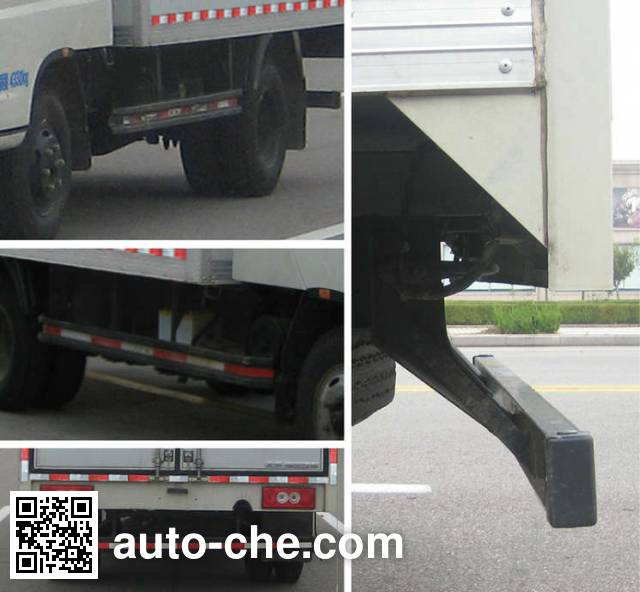 Foton BJ5049XXY-BB box van truck