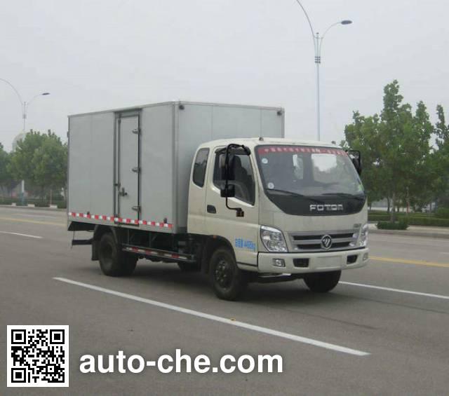 Foton BJ5049XXY-FL box van truck