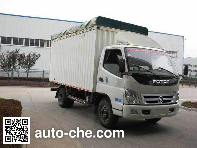 Foton BJ5059VBBEA-A4 soft top box van truck
