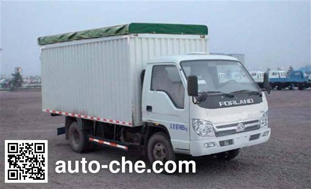 Foton BJ5073CPY-B soft top box van truck
