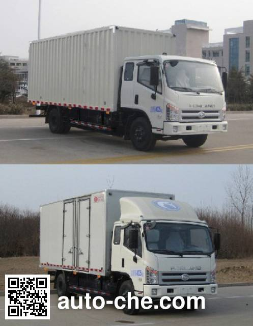 Foton BJ5073XXY-B3 box van truck