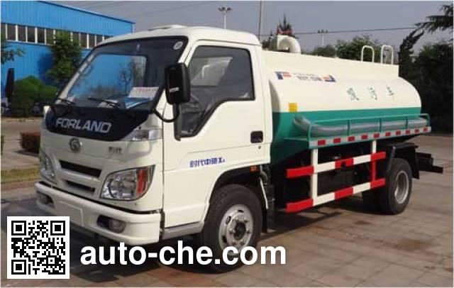Foton BJ5075GXW-2 sewage suction truck