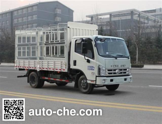 Foton BJ5043CCY-GM грузовик с решетчатым тент-каркасом