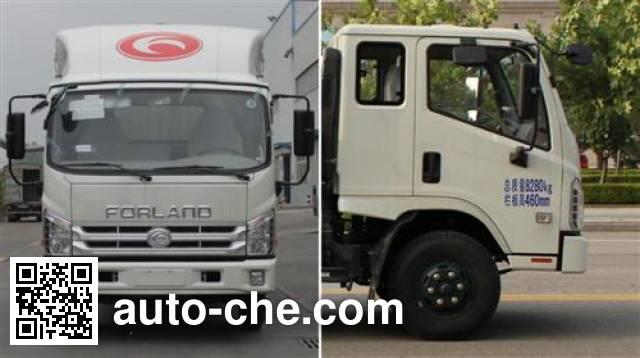 Foton BJ5043CCY-GN грузовик с решетчатым тент-каркасом