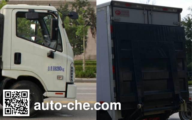 Foton BJ5083XXY-A4 box van truck