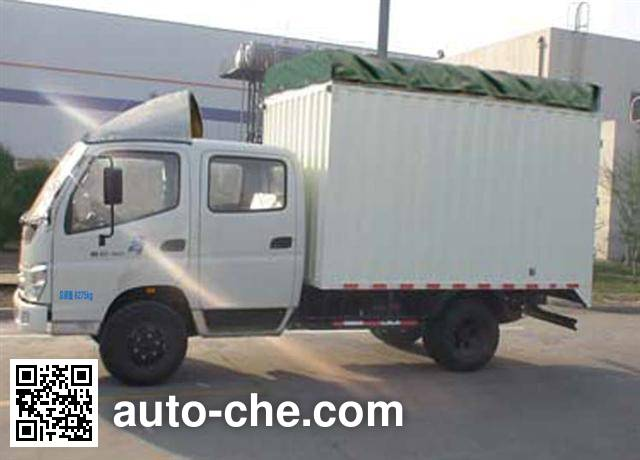 Foton BJ5089VEDBA-3 soft top box van truck