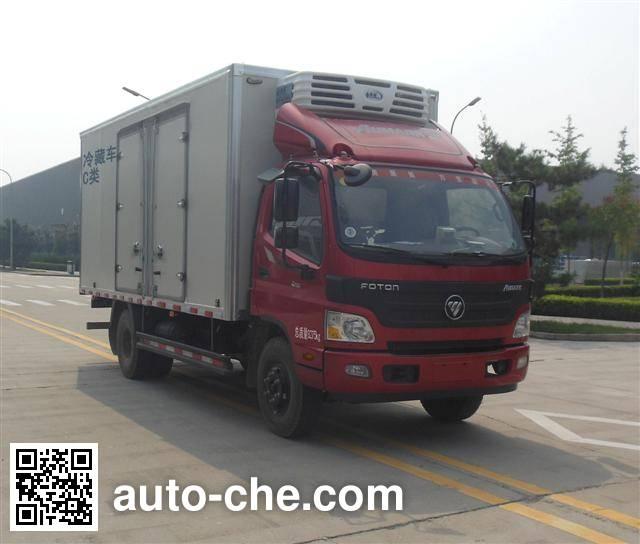 Foton BJ5089XLC-FB refrigerated truck