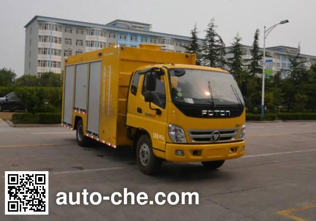 Foton BJ5099GQX-FA street sprinkler truck