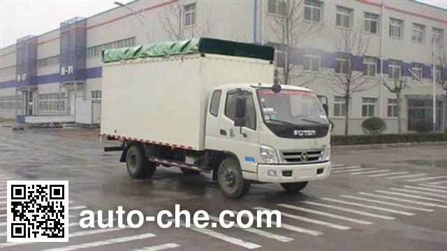 Foton BJ5099VECFA-6 soft top box van truck