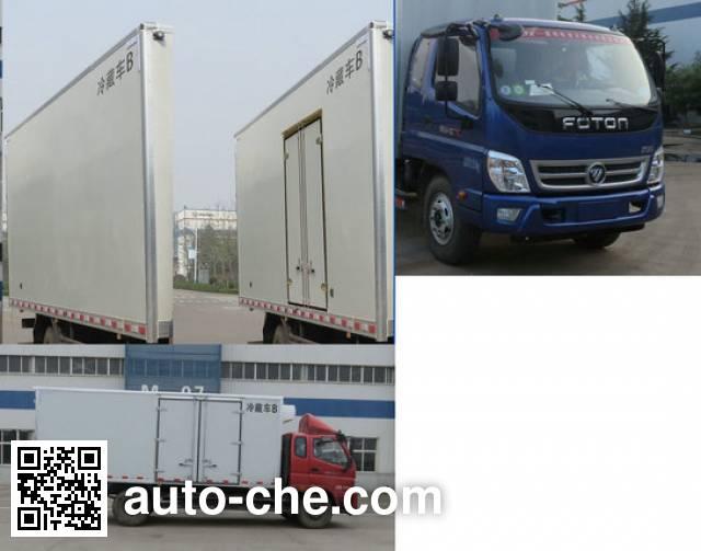 Foton BJ5099XLC-FA refrigerated truck