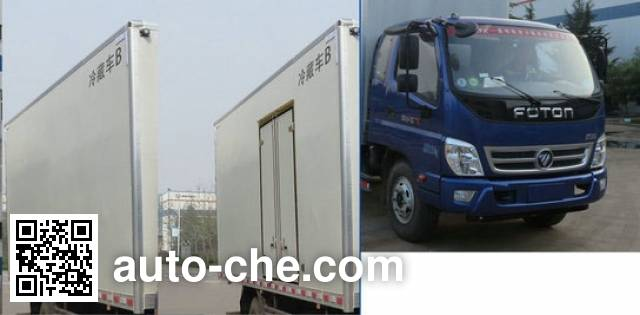 Foton BJ5099XLC-FB refrigerated truck