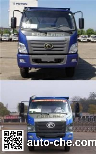 Foton BJ5102JSQ1-G1 truck mounted loader crane