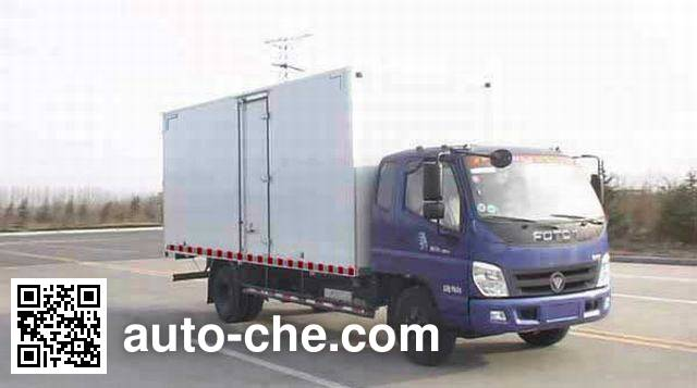 Foton BJ5109VECED-FD box van truck