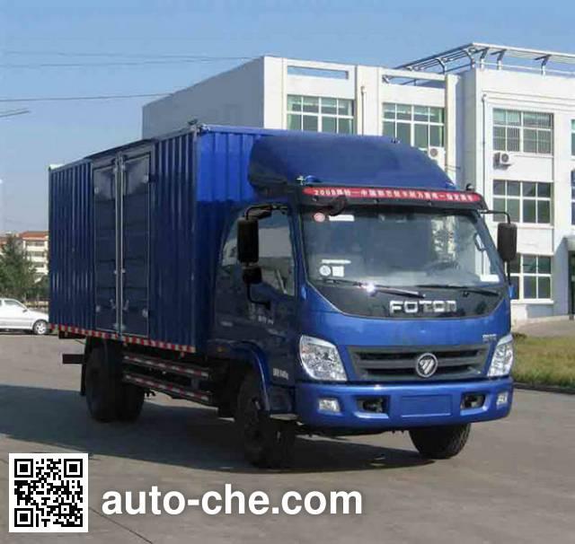 Foton BJ5109VECFG-A box van truck