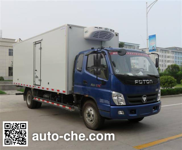 Foton BJ5109XLC-FC refrigerated truck