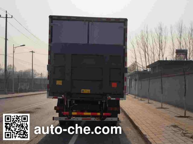 Foton Auman BJ5113XLC-XA refrigerated truck