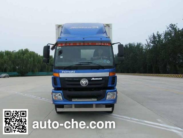 Foton Auman BJ5113XXY-XA box van truck