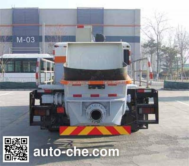 福田牌BJ5123THB混凝土车载泵车