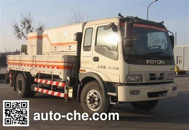 福田牌BJ5123THB95-1车载混凝土泵车