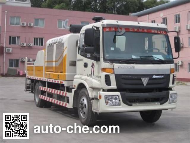 Foton BJ5124THB truck mounted concrete pump