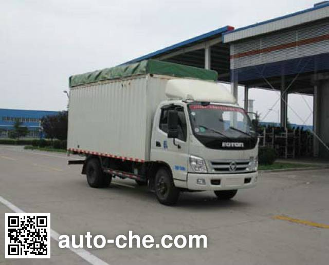 Foton BJ5129VJBFA-5 soft top box van truck
