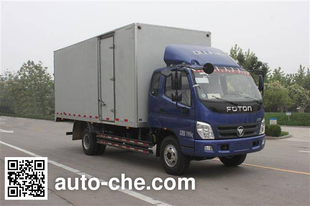Foton BJ5129XXY-FC box van truck