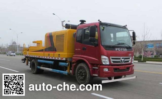 福田牌BJ5131THB车载式混凝土泵车