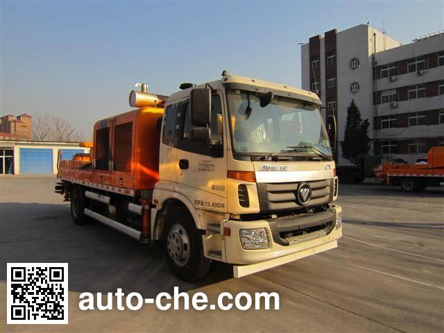 福田牌BJ5132THB车载式混凝土泵车